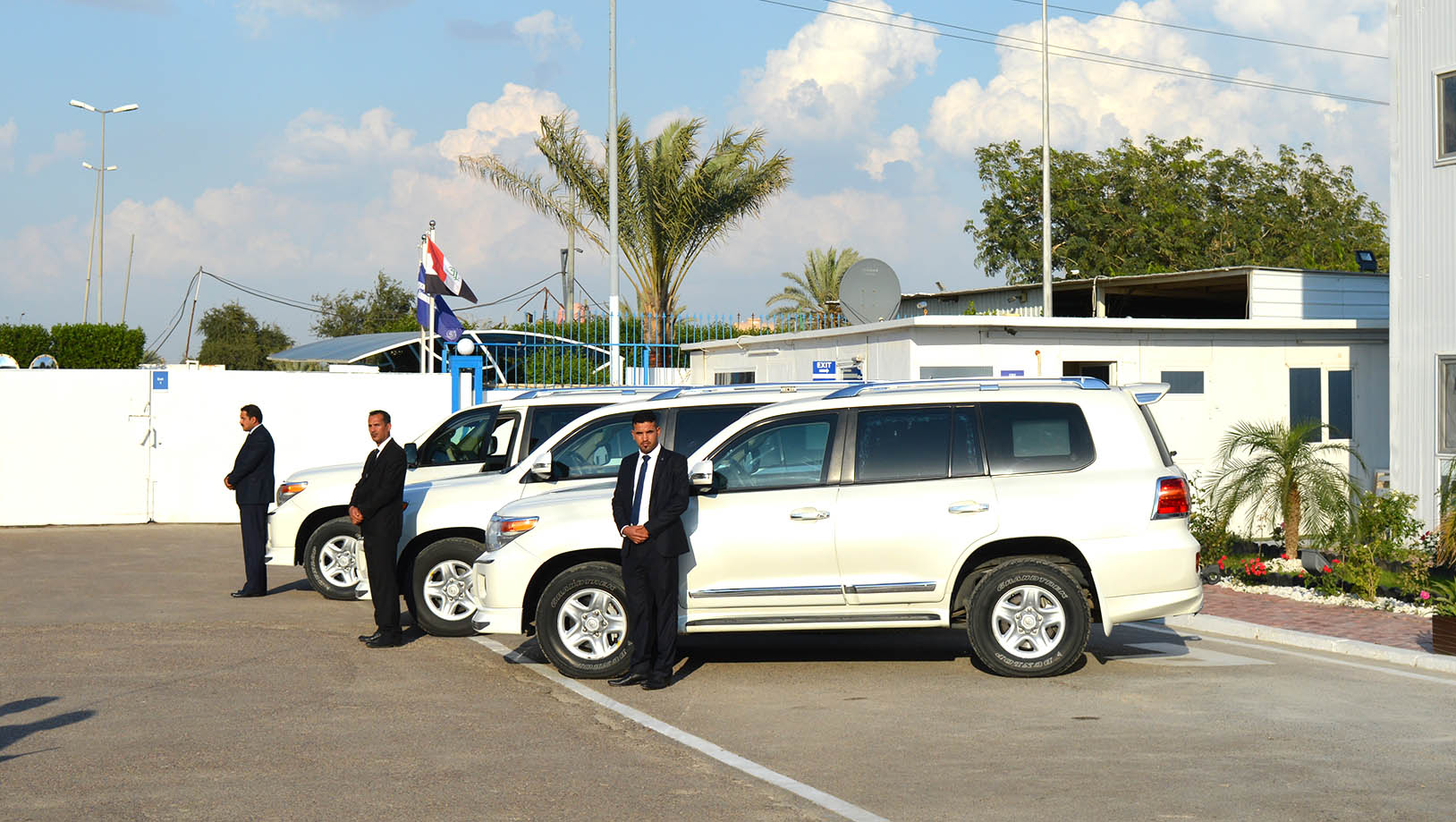 ABS protects VIP during Iraq visit